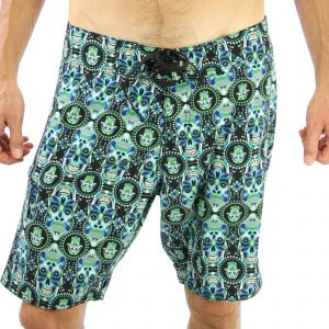 Liam Boardshort – Skull Kong  (4 ways stretch)