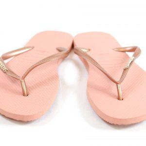 Havaianas Slim Glitter (nude rosa)