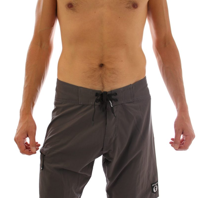Liam Boardshort – Dark Grey  (4 ways stretch)