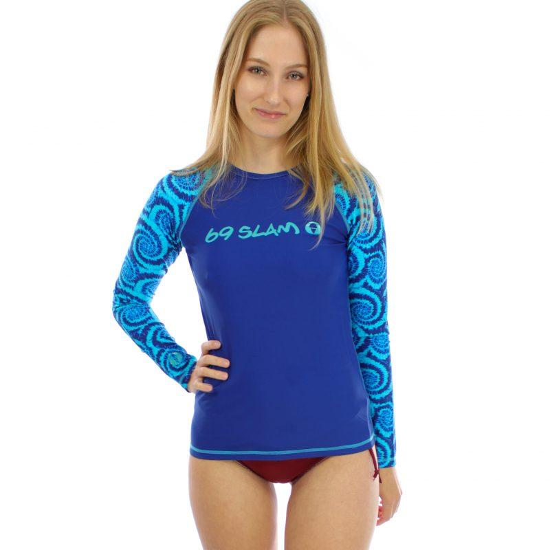 Ava Rash guard – Candy Splash (Lycra Surfshirt, langarm)